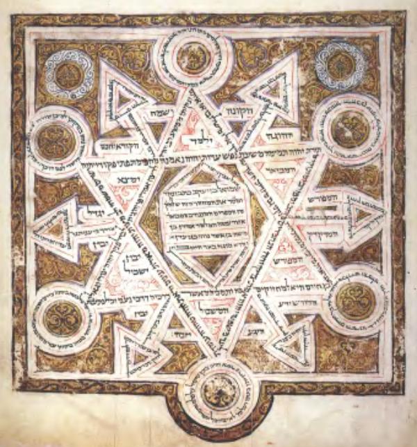 Kolophon des Codex Leningradensis