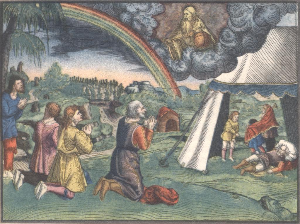 Lucas Cranach: Noah - Illustration der Lutherbibel von 1541