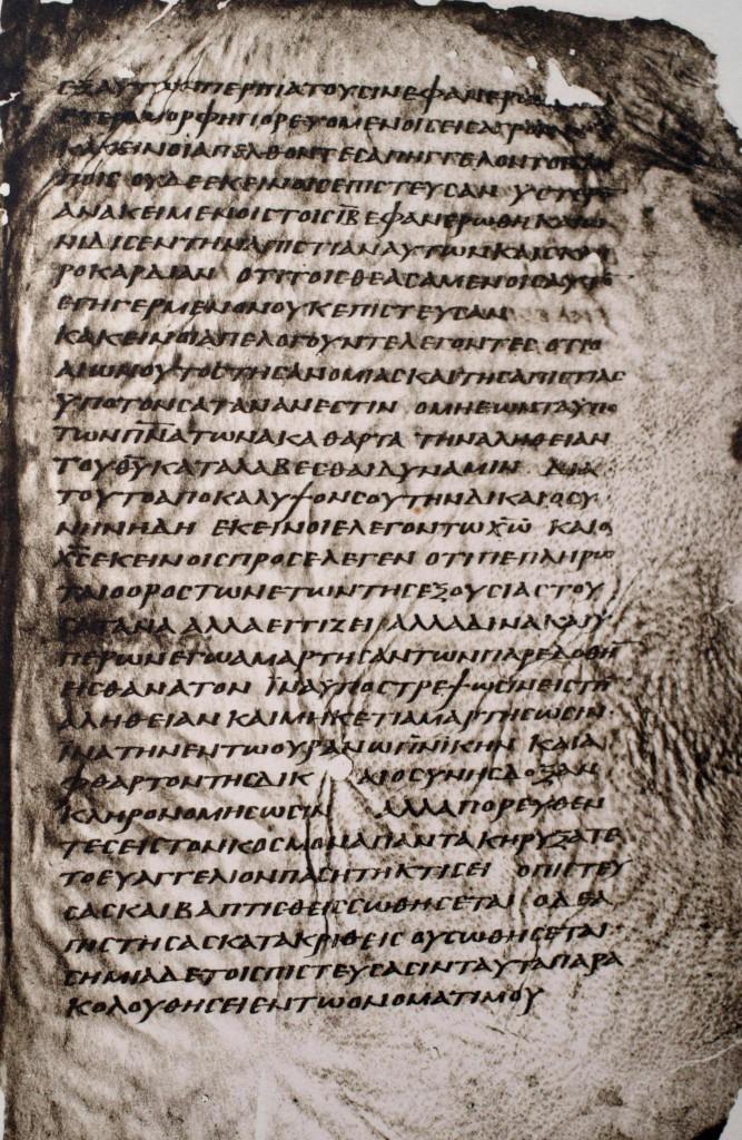 Codex Washingtonianus mit Free-Logion