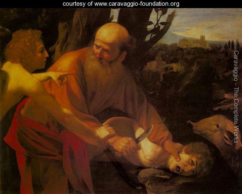 Caravaggio: Die Opferung Isaaks