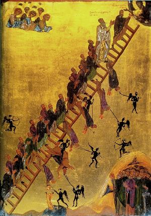 Die Jakobsleiter Sinai Kloster 12. Jh.