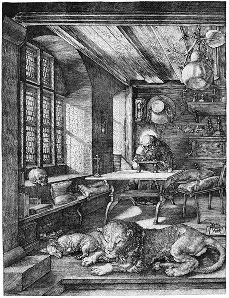 Albrecht Dürer: Hieronymus im Gehäus