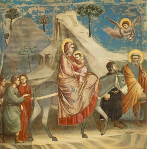 Giotto: Flucht nach Ägypten