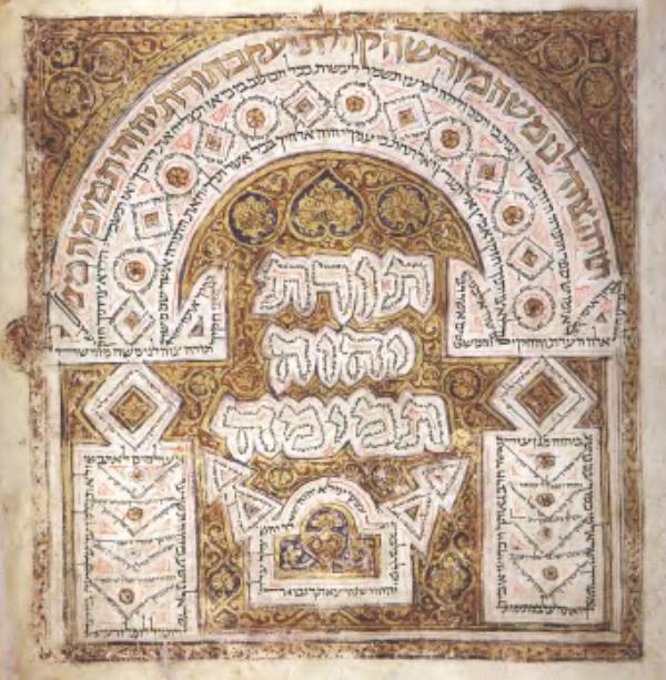 Kolophon aus dem Codex Leningradensis S. 961