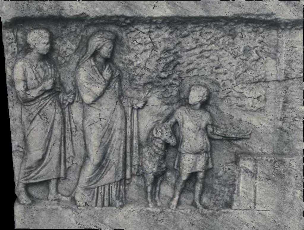 Opfer an Hekate am Eingang zum Hades