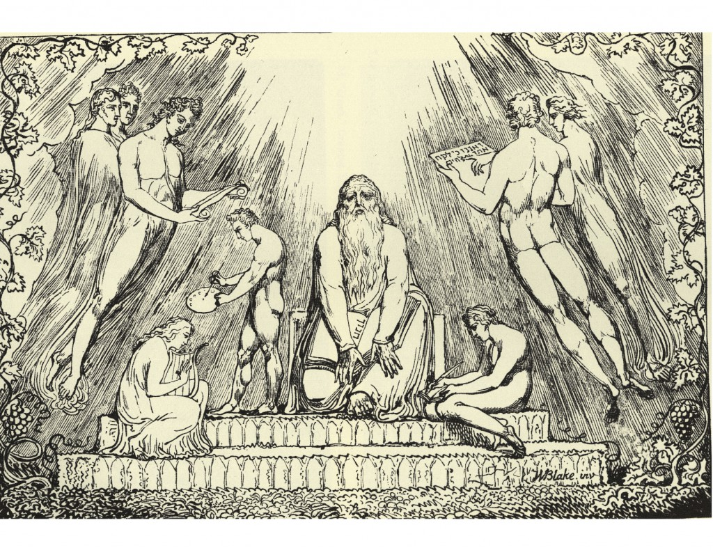 William Blake: Henoch (1807) Wikimedia Commons