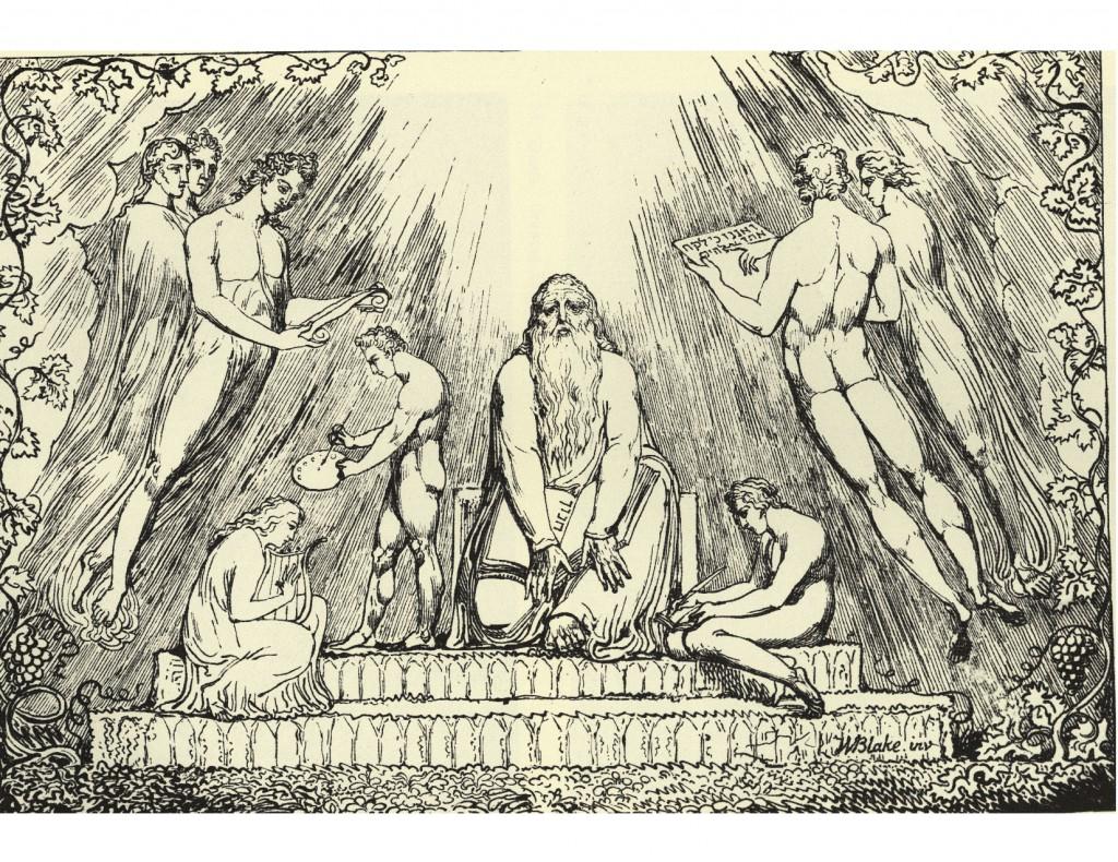 William Blake: Henoch (1807) Wikimedia Commons