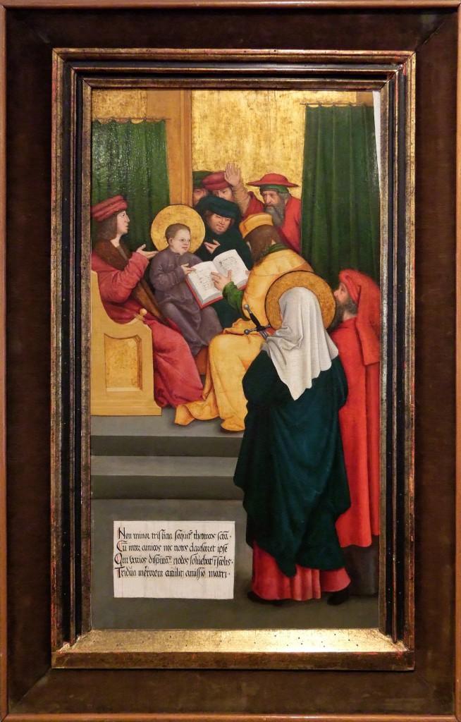 Bernhard Strigel: der zwölfjährige Jesus im Tempel; Quelle: wikimedia