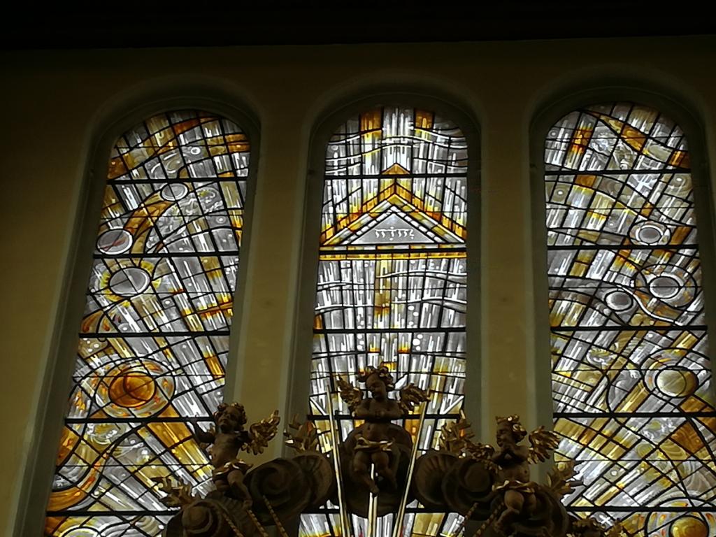Das Tetragramm in der Heilig-Geist Kirche in Attnang.