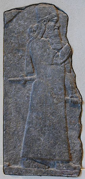 Tiglath-Pileser III; Louvre, Paris; Quelle: wikimedia commons