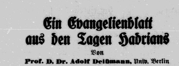 Titelzeile vom 3. Dezember 1935